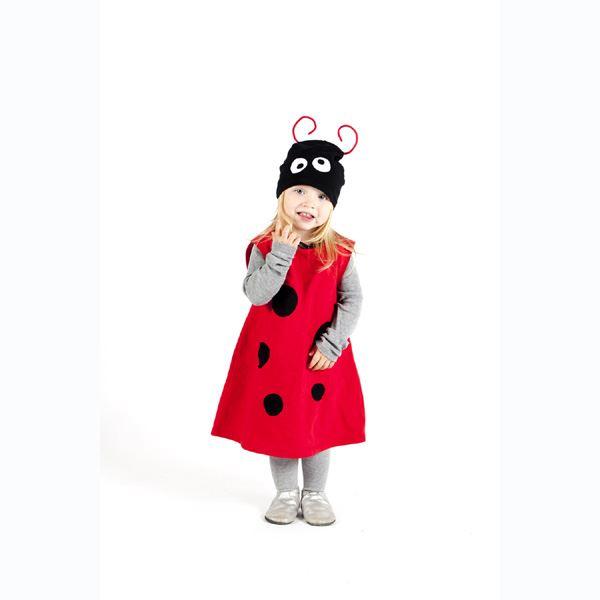 mariehøne kostume til børn mariehønekostume mariehøne udklædning børn mariehøne kostume tilbud mariehøne rolle kostume