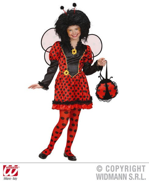 mariehøne kostume til piger mariehøne kostume fastelavnskostume til piger mariehønekostume til børn