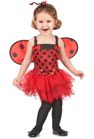 mariehøne udklædning til børn 304x450 - Mariehøne kostume til børn