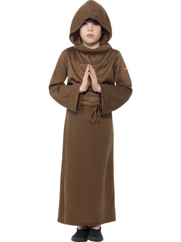 munke kostume til børn lille munk udklædning billigt fastlavnskostume religiøst kostume til børn munkekostume til børn børnekostume munk munk udklædning