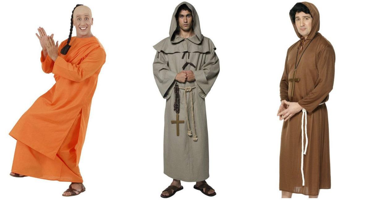 udklædning munk