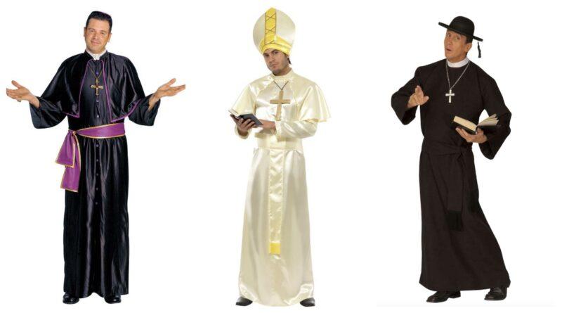 præstekostume præst kostume til voksne præst udklædning biskop kostume til voksne pavekostume 2