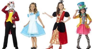 alice i eventyrland kostume til børn 390x205 - Alice i eventyrland kostume til børn