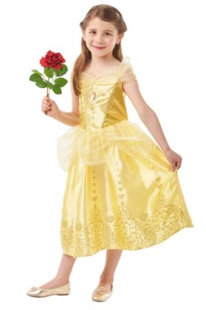 belle kjole til piger belle udklædning disney kostume til børn