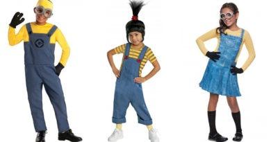 minions kostume til børn, minions tøj til børn, minions udklædning til børn, minions børnekostumer, minions kostumer til børn, minions kostume til piger, minions kostume til drenge, grusomme mig kostume, grusomme mig udklædning, kostumeuniverset