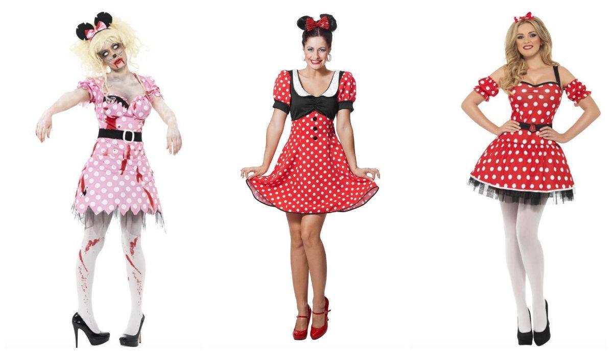 minnie mouse kostume sidste skoledag