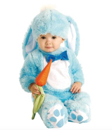 kanin baby kostume 387x450 - Kanin kostume til baby