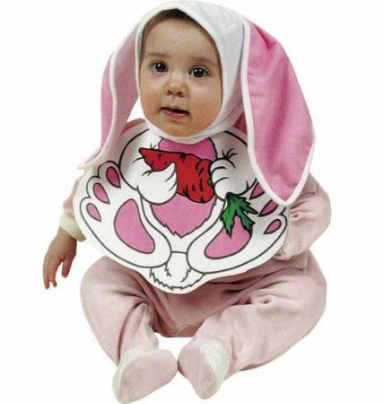 kanin babykostume 428x450 - Kanin kostume til baby