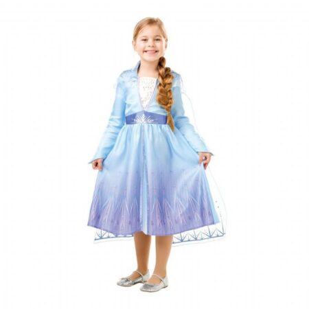 Elsa kjole frost 2 450x450 - Elsa kostume til børn