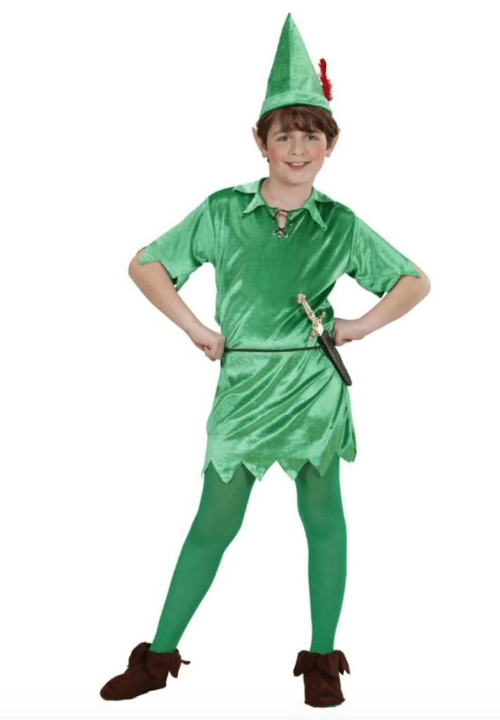 Skærmbillede 2018 01 07 kl. 11.56.16 712x1024 - Peter Pan kostume til børn