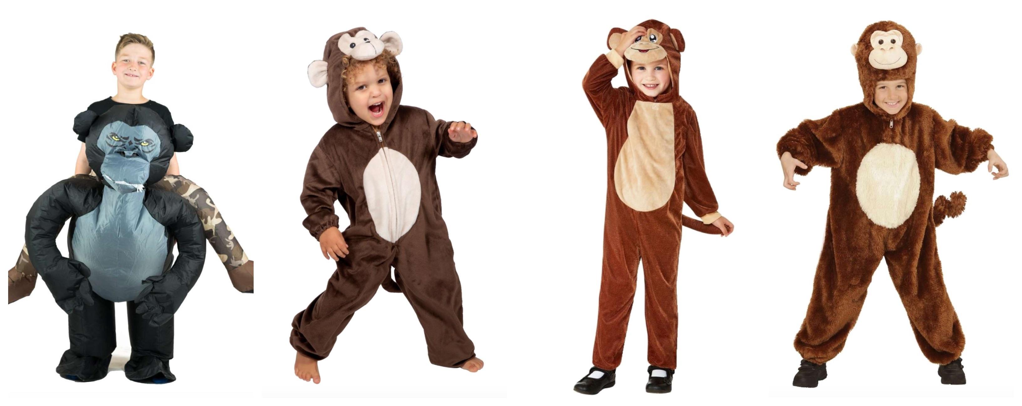 abe kostume til børn - abe kostume til børn og baby