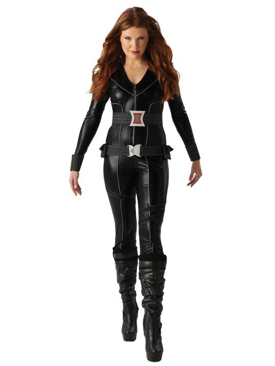 avengers kostume til voksne black widow kostume til voksne avengers kvindekostume udklædning