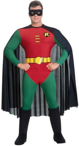 batman kostume til voksne robin kostume voksen