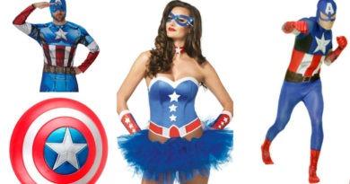 captain amerca kostume til voksne fastelavn kaptajn amerika fastelavnskostume captain amerika kostume