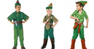 collage 1 390x205 - Peter Pan kostume til børn