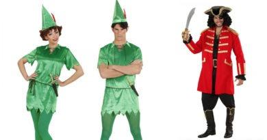 Peter pan kostume til voksne, peter pan udklædning til voksne, peter pan tøj til voksne, kaptajn klo kostume til voksne, kaptajn klo udklædning til voksne, halloween kostume til voksne, zombie kostume til voksne, kostumer til voksne, kostumeuniverset