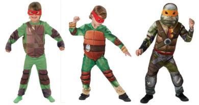 collage 21 390x205 - Ninja turtles kostume til børn