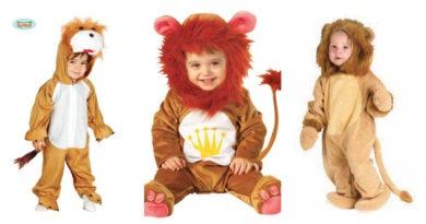 collage 24 390x205 - Løve kostume til baby