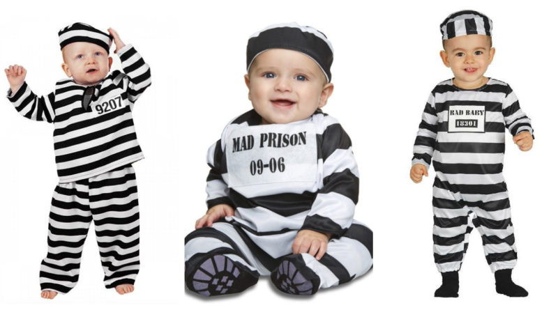 fange kostume til baby, fange udklædning til baby, fangedragt til baby, fange børnekostume, fange børne kostumer, fange baby udklædning, fange baby kostume, kostumer til babyer, babykostumer, uniform kostume til baby, uniform udklædning til baby, kostumeuniverset