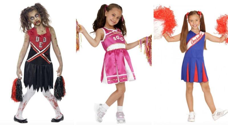cheerleader kostume til børn, cheerleader udklædning til børn, cheerleader kjole til børn, cheerleader tøj til børn, cheerleader børnekostumer, cheerleader kostumer, cheerleader zombie kostume til børn, zombie kostumer til børn, zombie udklædning til børn, zombie børnekostumer, halloween kostumer til børn, fastelavn 2018, kostumeuniverset