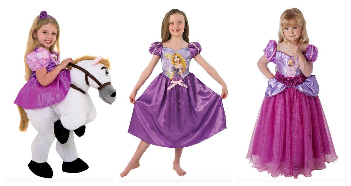 3c164038e456 Rapunzel kostume til børn - KostumeUniverset