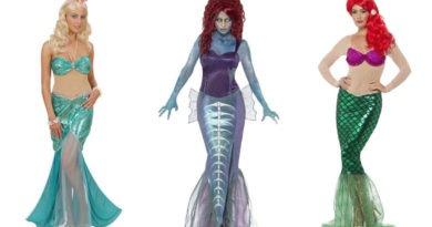 collage 390x205 - Ariel havfrue kostume til voksne