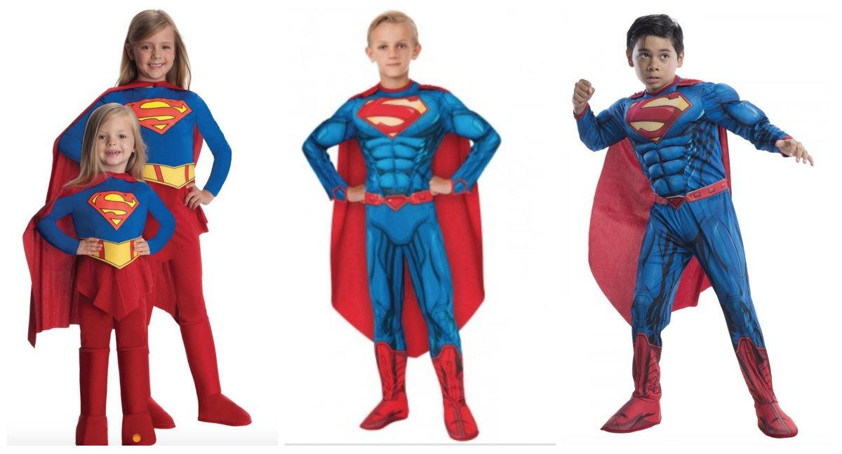 superman tøj til voksne