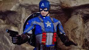 download - Captain America kostume til voksne