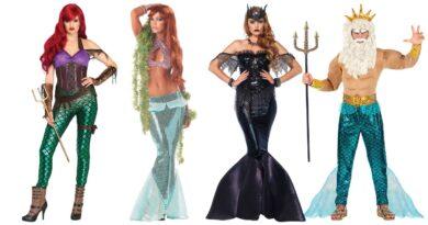 havfrue kostume atlantis kostume ariel kostume ariels far kostume ariels mor kostume til voksne
