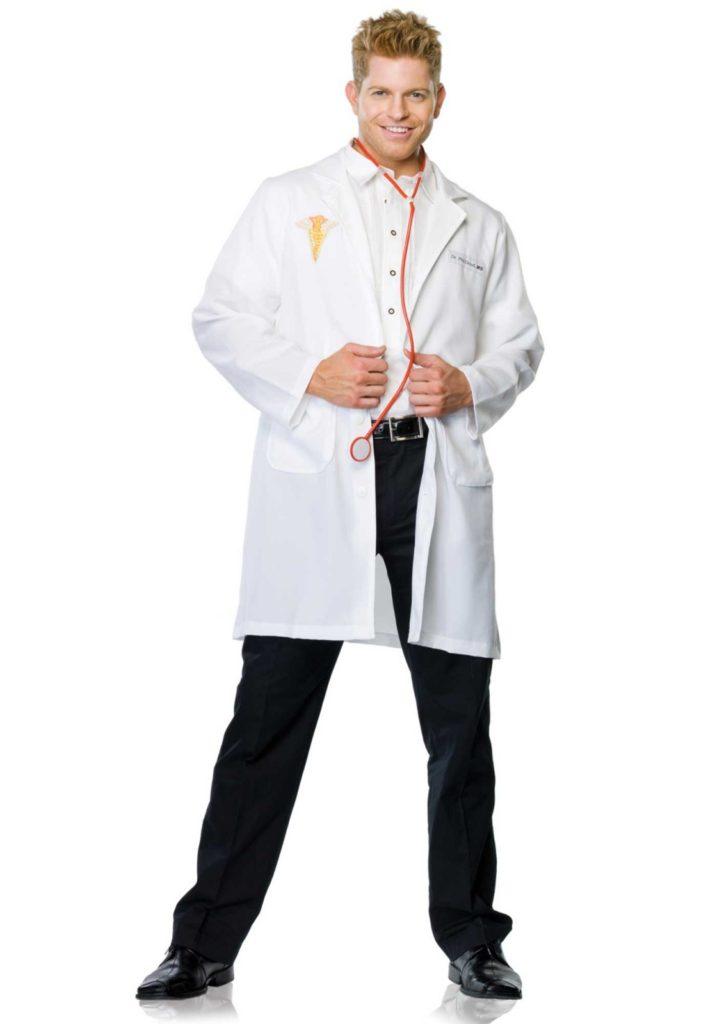 læge kostume til voksne lægekostume kirurgkostume livredderudklædning fastelavnskostume til voksne lægekittel kostume lægeuniform udklædning lægekittel