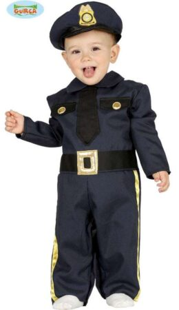 lille politimand babykostume politi babykostume politi kostume til baby