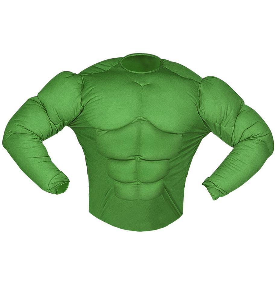 avengers kostume til voksne hulk overkrop hulk mavemuskler hulk grøn kostume