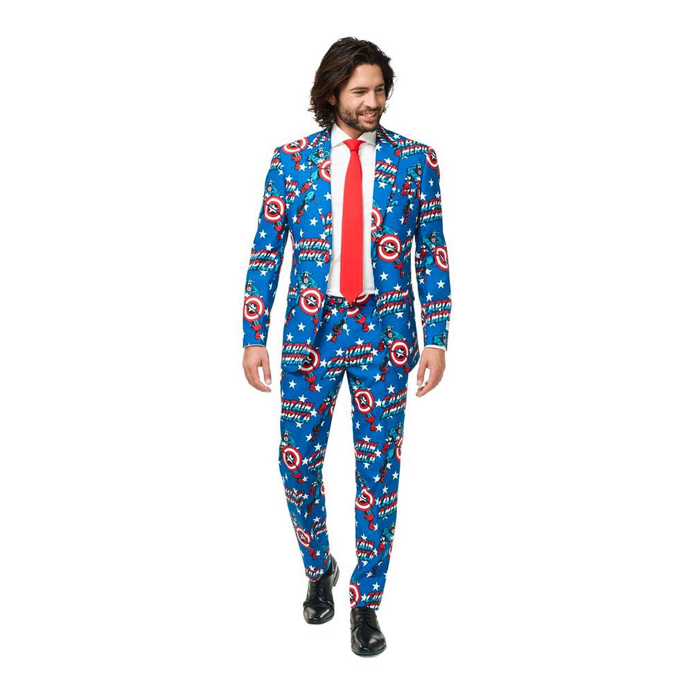 opposuits captain america jakkesæt
