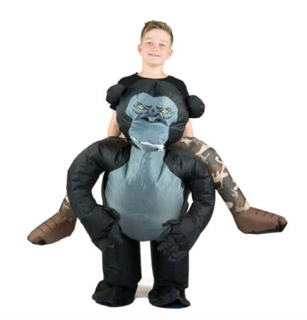 oppusteligt abe kostume 432x450 - abe kostume til børn og baby