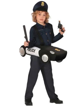 politibil kostume til børn fastelavnskostume til børn politibil udklædning