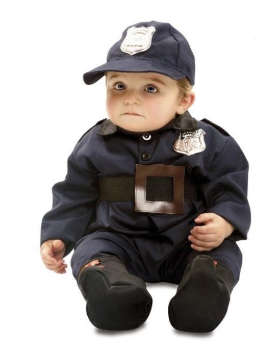 politimand kostume til børn politimand børnekostume politi udklædning til baby politi babykostume fastelavnskostume 1 år