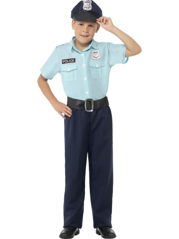 politimand kostume til børn politimand børnekostume politi udklædning til politiuniform kostume til børn politi uniform fastelavn børnekostume