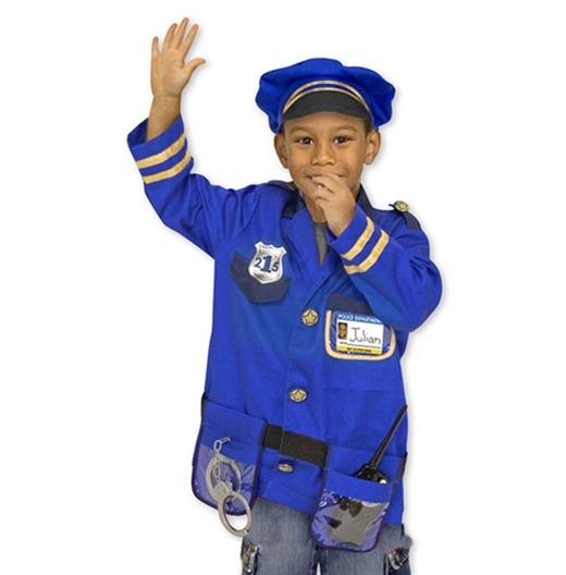 politimand kostume til børn politimand børnekostume politi udklædning trafikpoliti kostume blå politimandskostume