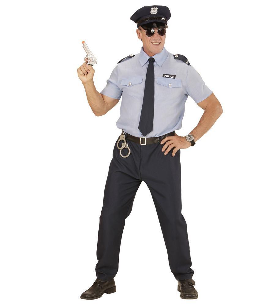politimand kostume til voksne politibetjent kostume politiuniform kostume politibetjent udklædning fastelavn ordensmagten kostume dansk politiuniform kostume