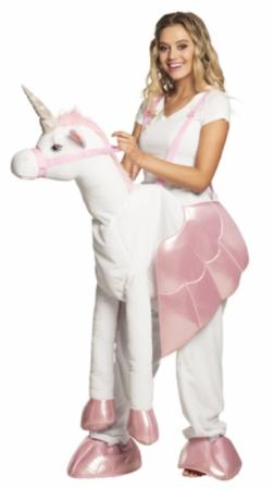 ride on unicorn ride on enhjørning kostume til voksne