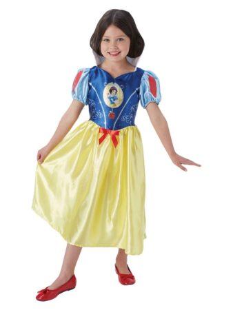 snehvide kostume til børm snehvide disney børnekostume