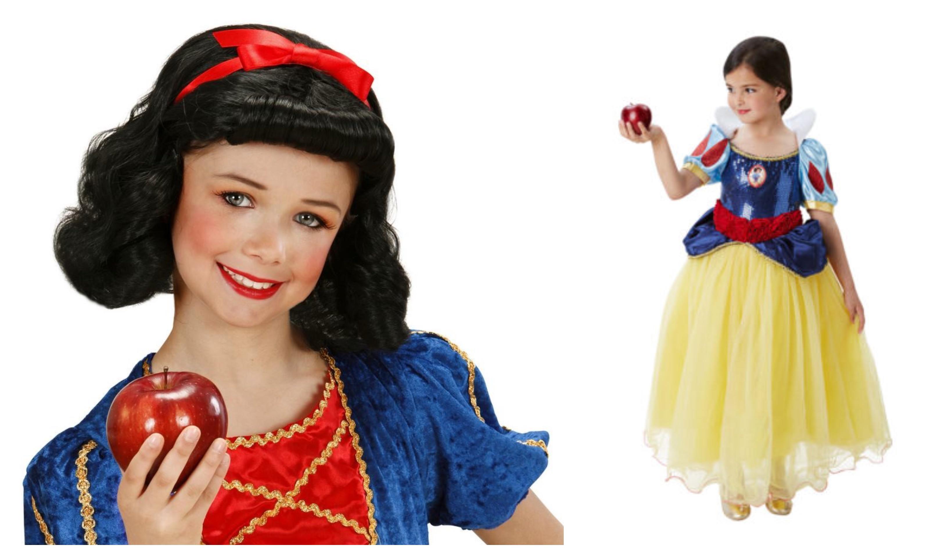 Snehvide kostume til piger KostumeUniverset Disney prinsesse