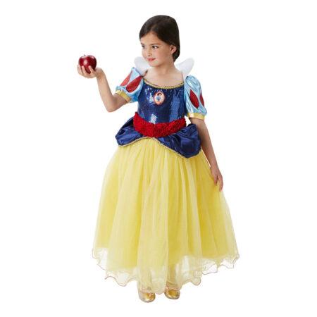 snehvide luksus kostume til børn snehvide børnekostume til piger