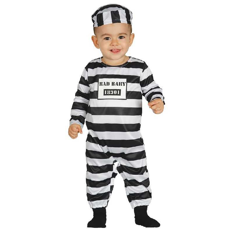 straffefange baby kostume - Fange kostume til baby