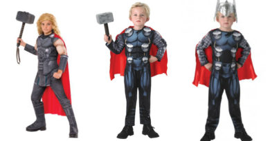 thor kostume til børn thor børnekostume nordisk mytologi kostume avengers thor kostume thor udklædning thor fastelavnskostume halloween udklædning 390x205 - Thor kostume til børn