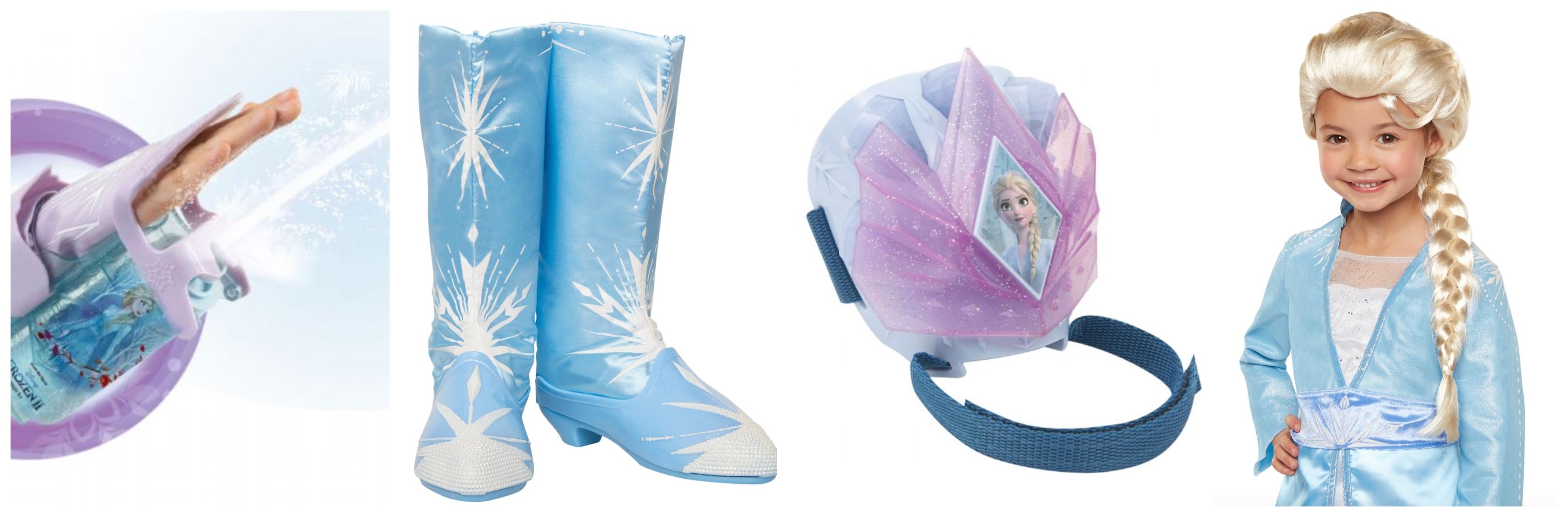 tilbehør til Elsa kostume til børn - Elsa kostume til børn