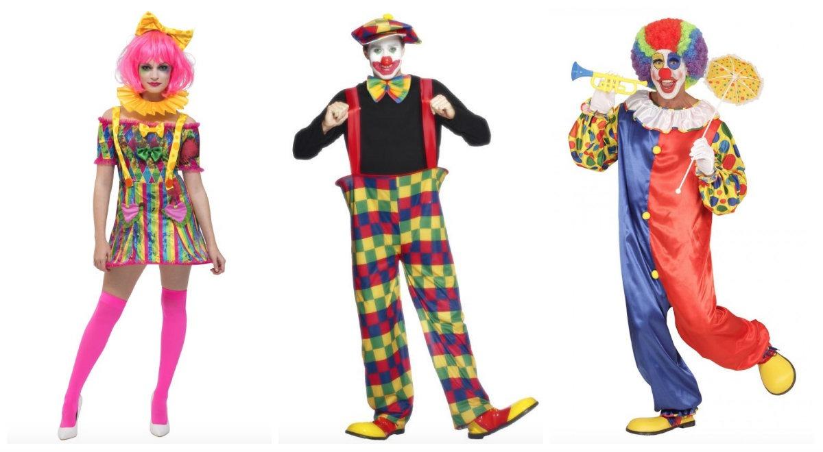 klovne kostume til kvinder