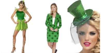 collage 3 390x205 - Sankt Patricks kostume til kvinder