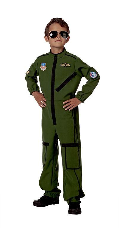 jægerpilot kostume til børn pilot kostume til børn jægerpilot kedeldragt udklædning børn