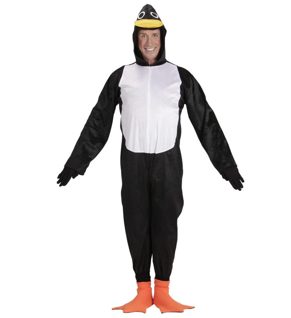 pingvin kostume til voksne pingvin udklædning til fastelavn temafest
